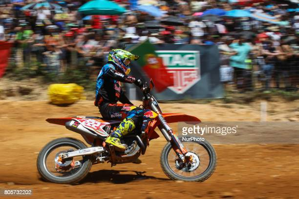 Antonio Cairoli in KTM of Red Bull KTM Factory Racing in action during the MXGP World Championship 2017 Race of Portugal Agueda July 2 2017