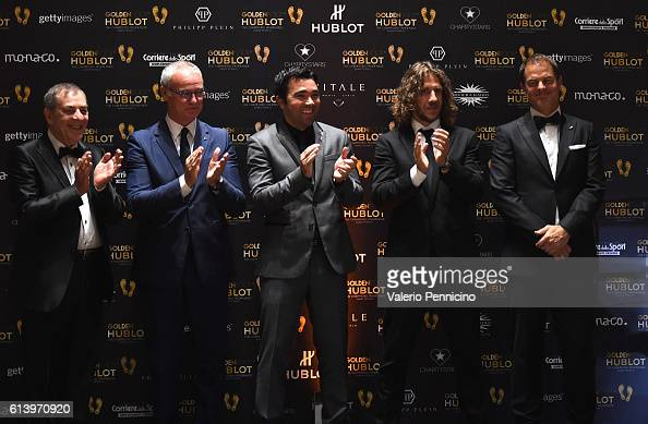 ¿Cuánto mide Deco? - Real height Antonio-caliendo-claudio-ranieri-deco-carles-puyol-and-frank-de-boer-picture-id613970920?s=594x594
