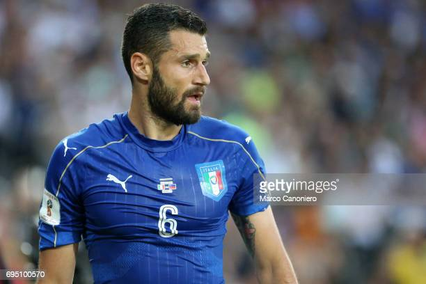 Antonio Candreva of Italy during the FIFA 2018 World Cup Qualifier match between Italy and Liechtenstein Italy went on to win the match 50