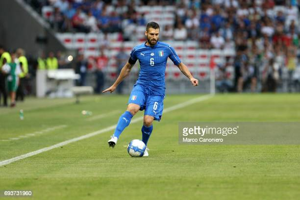 Antonio Candreva of Italy in action during the international friendly match between Italy and Uruguay Italy wins 30 over Uruguay