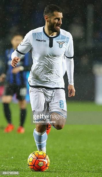Antonio Candreva of Lazio during the Serie A match between Atalanta BC and SS Lazio at Stadio Atleti Azzurri d'Italia on October 28 2015 in Bergamo...