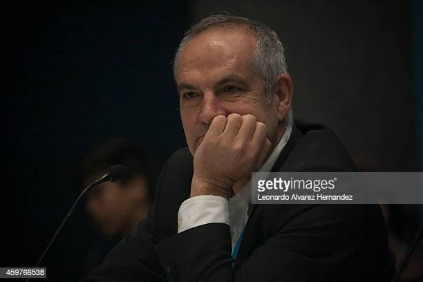 Antonio Caño Director of the newspaper El País attends the Guadalajara International Book Fair 2014 at Juan Rulfo Auditorium on November 30 2014 in...