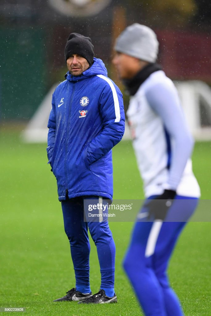 Chelsea Training and Press Conference