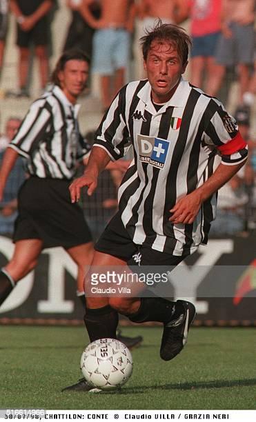 Antonio Conte of FC Juventus in action during a pre season match