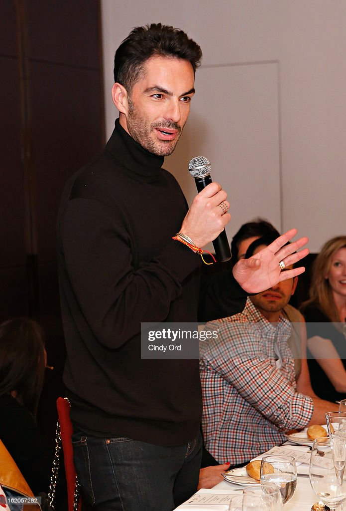 Antonio Corral-Calero attends the Gotham Magazine & Moroccanoil Celebrate With Step Up Women's Network event on February 18, 2013 in New York City.