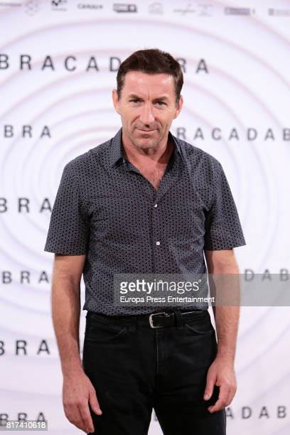 Antonio de la Torre attends 'Abracadabra' Madrid photocall on July 17 2017 in Madrid Spain