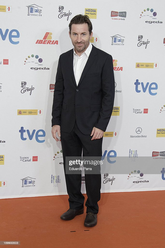 Antonio de la Torre attends Jose Maria Forque awards photocall at Canal theatre on January 22, 2013 in Madrid, Spain.