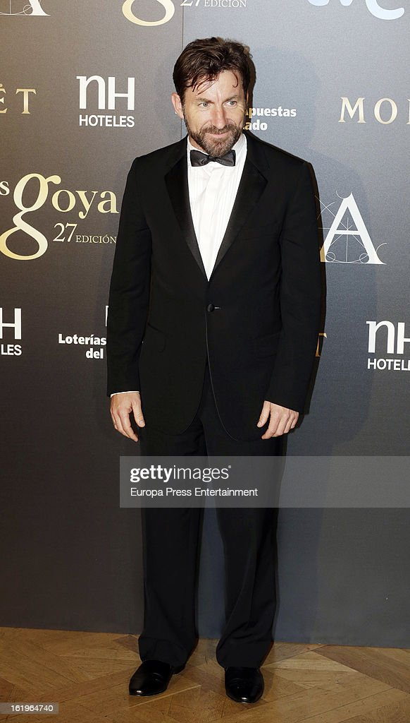 Antonio de la Torre attends the official 'Goya Cinema Awards After Party' 2013 at Casino de Madrid on February 17, 2013 in Madrid, Spain.