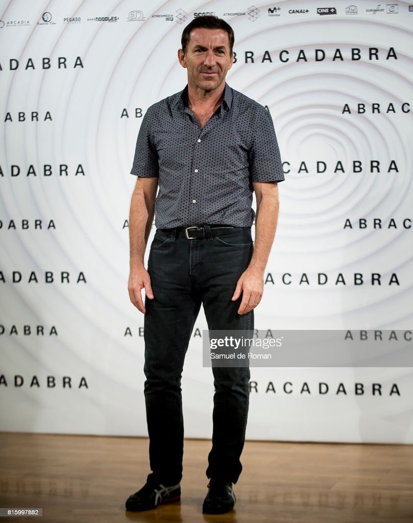 Antonio de la Torre during 'Abracadabra' Madrid Photocall on July 17, 2017 in Madrid, Spain.