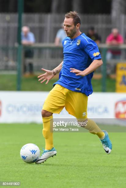 Antonio Di Gaudio of Parma Calcio in action during the preseason friendly match between Parma Calcio and Dro on July 30 2017 in Pinzolo near Trento...