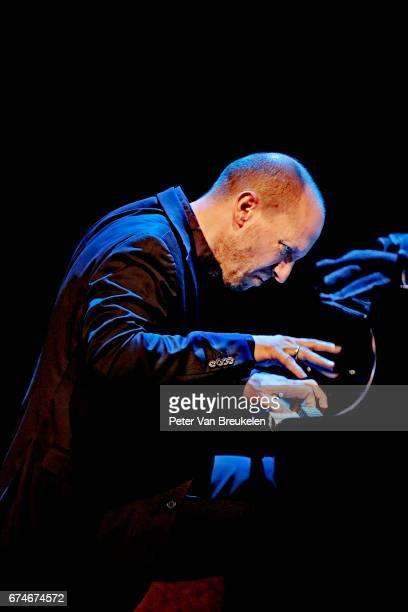 Antonio Faraò Performs with Benny Golson quartet at Lantaren Venster on April 08 2017 in Rotterdam The Netherlands