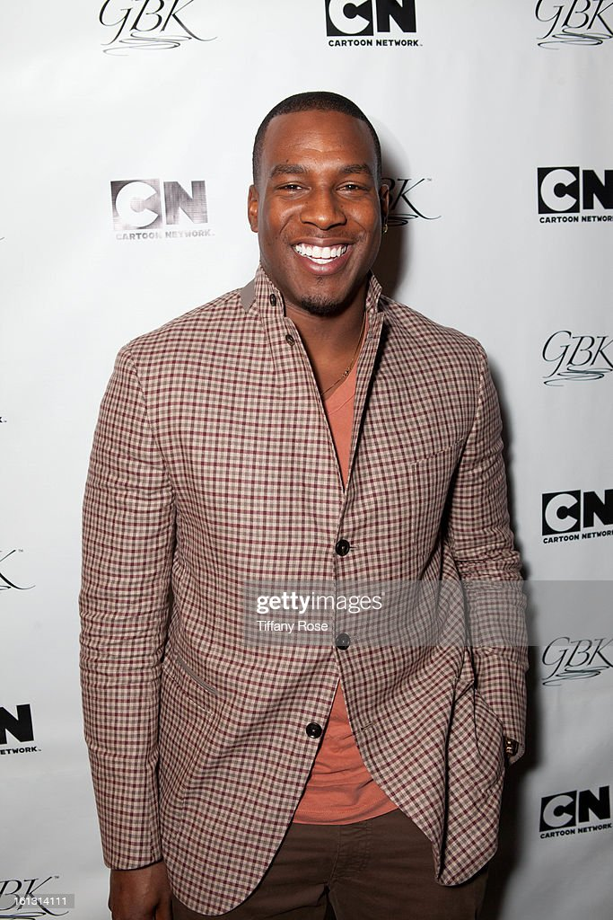 Antonio Gates attends the GBK & Cartoon Network's Official Backstage Thank You Lounge at Barker Hangar on February 9, 2013 in Santa Monica, California.