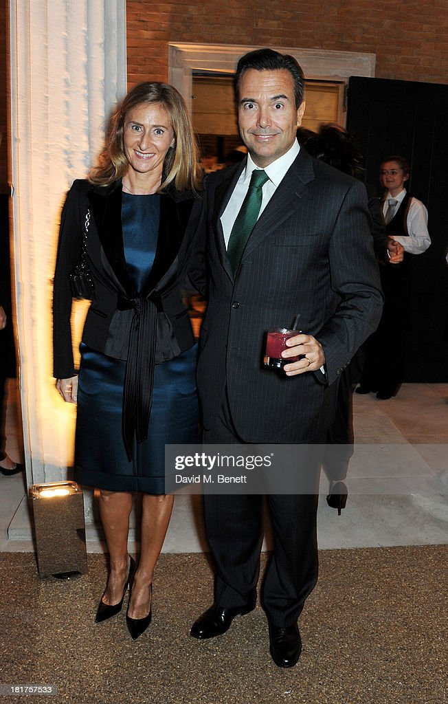 Antonio Horta-Osorio (R) attends a donors dinner hosted by Michael Bloomberg & Graydon Carter to celebrate the launch of the new Serpentine Sackler Gallery designed by Zaha Hadid on September 24, 2013 in London, England.