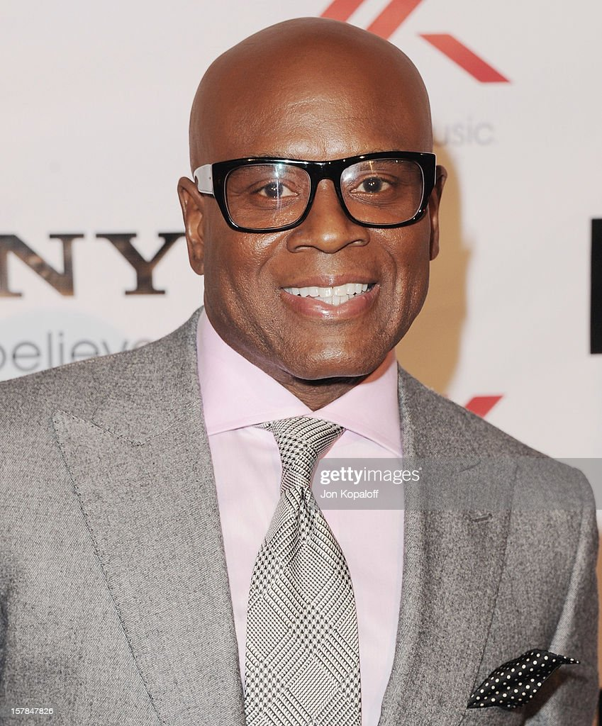Antonio 'L.A.' Reid arrives at The X-Factor Viewing Party at on December 6, 2012 in Los Angeles, California.
