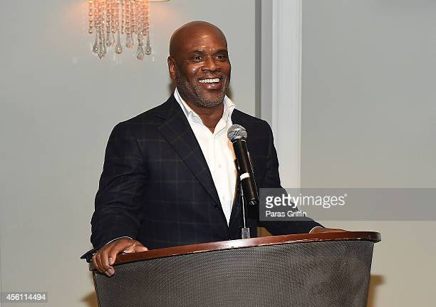 Antonio 'LA' Reid onstage at the ASCAP Rhythm And Soul 3rd Annual Atlanta Legends Dinner Honoring Antonio 'LA' Reid at Mandarin Oriental Hotel on...