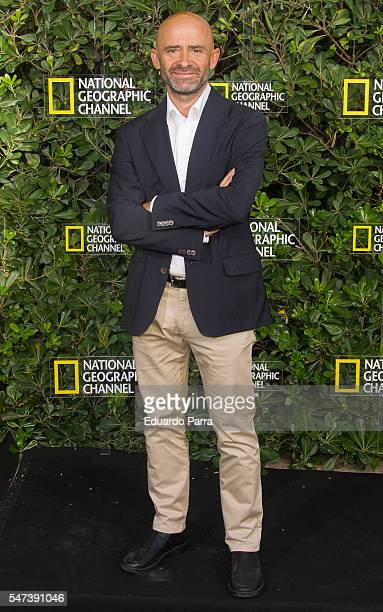 Antonio Lobato attends the National Geographic Channel 15th Anniversary photocall at the EEUU embassy on July 14 2016 in Madrid Spain