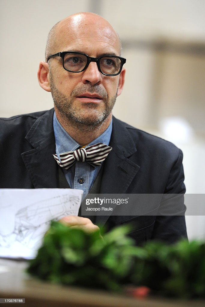 Antonio Marras attends ceremony Honorary Degree From Academy of Fine Arts of Brera on June 12, 2013 in Milan, Italy.