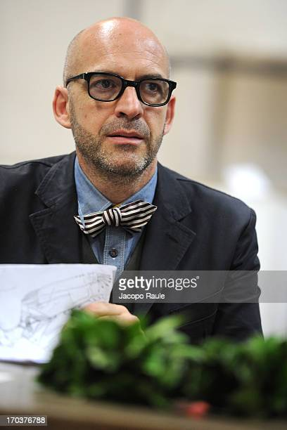 Antonio Marras attends ceremony Honorary Degree From Academy of Fine Arts of Brera on June 12 2013 in Milan Italy