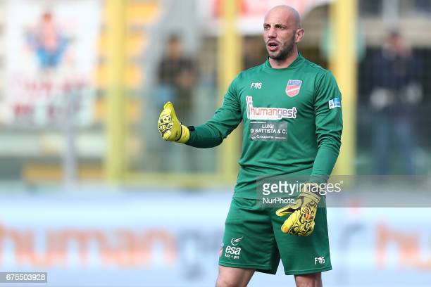 Antonio Narciso of Teramo Calcio during Lega Pro round B match between Teramo Calcio 1913 and Parma Calcio at Stadium Gaetano Bonolis on 30 April...