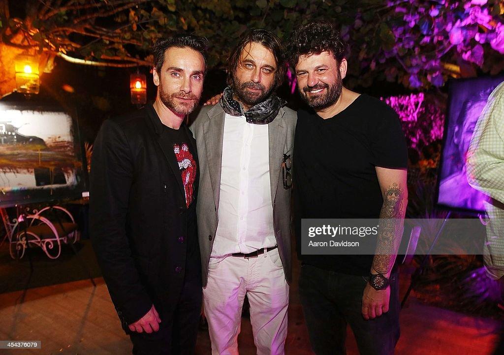 Jordi Molla And Nino del Prette Artist Show At W South Beach Hotel & Residences