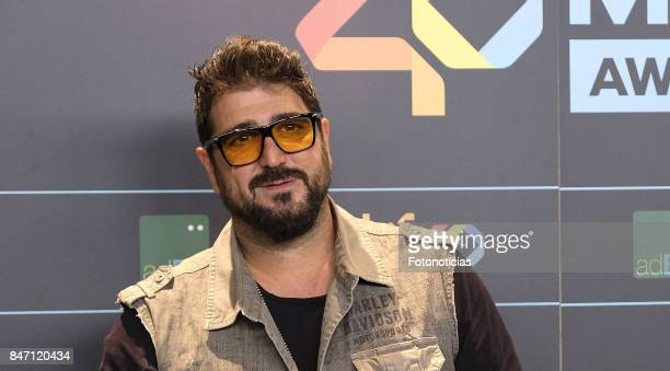 Antonio Orozco attends the 40 Principales Awards Nominated Dinner at the Florida Retiro on September 14 2017 in Madrid Spain