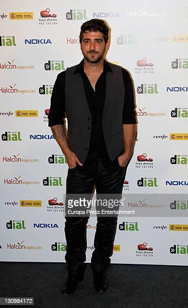 Antonio Orozco attends the Gala by Cadena Dial radio Station at Palacio de Deportes on October 28 2011 in Madrid Spain