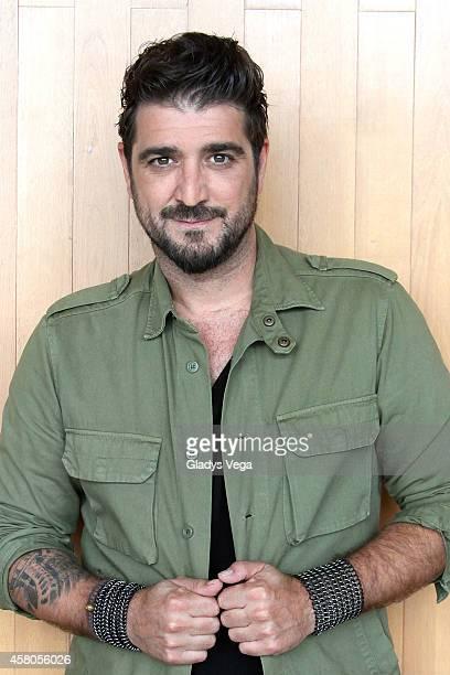 Antonio Orozco on 'Alexandra de Noche' at Telemundo studios on October 29 2014 in San Juan Puerto Rico