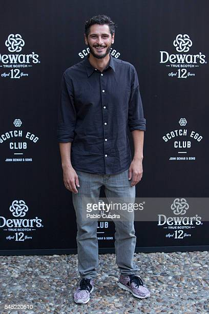 Antonio Pagudo attends the Dewar's Scotch Egg Club opening party at the Real Fabrica de Tapices on July 6 2016 in Madrid Spain
