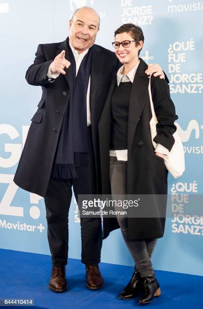 Antonio Resines and Aida Folch during 'Que fue de Jorge Sanz' Madrid Premiere on February 23 2017 in Madrid Spain