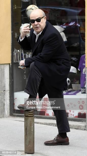 Antonio Resines is seen on February 23 2017 in Madrid Spain