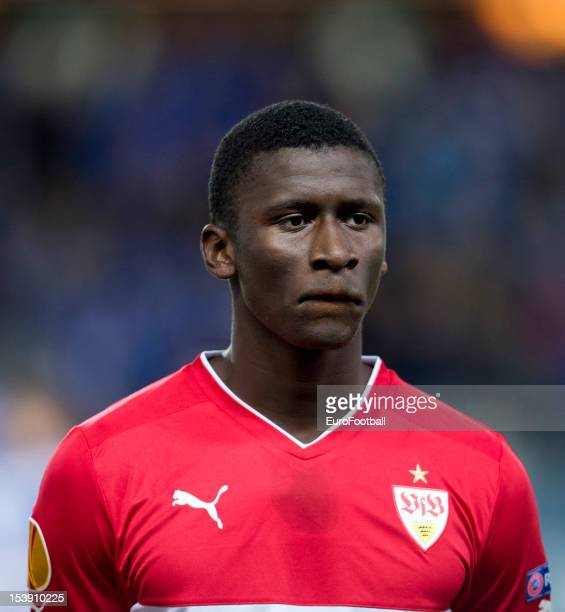 Antonio Rudiger of VfB Stuttgart in action during the UEFA Europa League group stage match between Molde FK and VfB Stuttgart held on October 4 2012...
