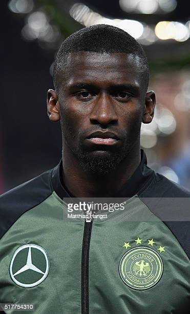 Antonio Ruediger of Germany poses prior to the International Friendly match between Germany and England at Olympiastadion on March 26 2016 in Berlin...