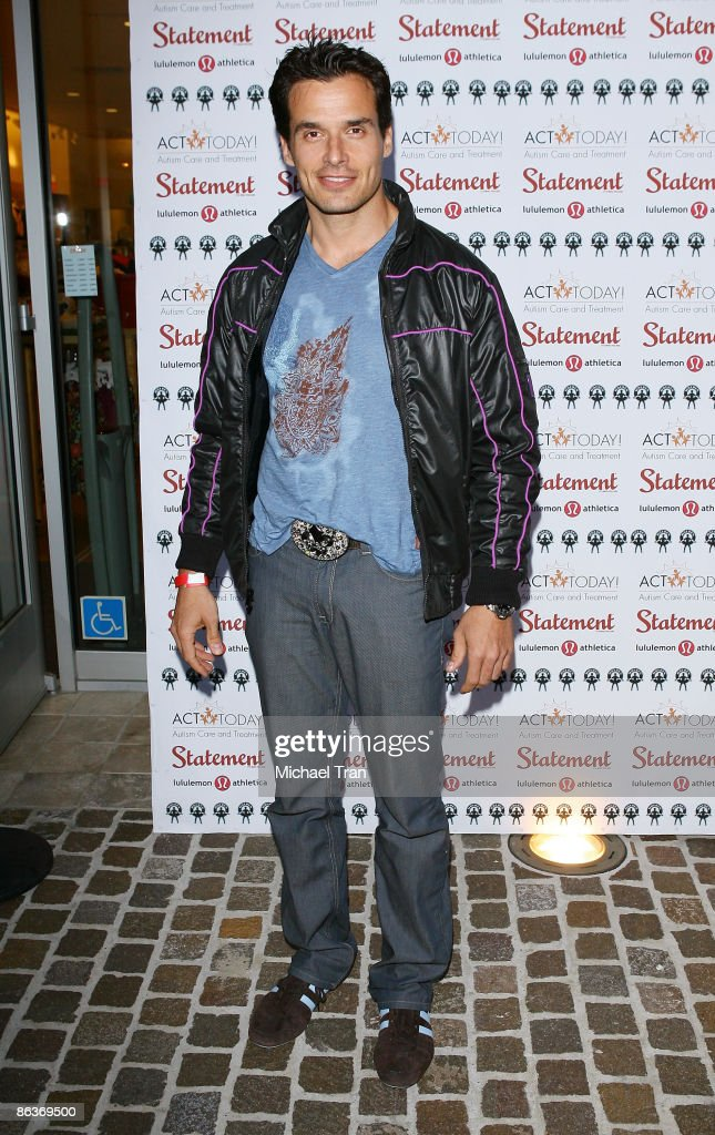 Antonio Sabato Jr attends the 2nd Annual 'Wyatt's Run' kick off party to benefit Autism Care and Treatment Today held at the lululemon athletica...