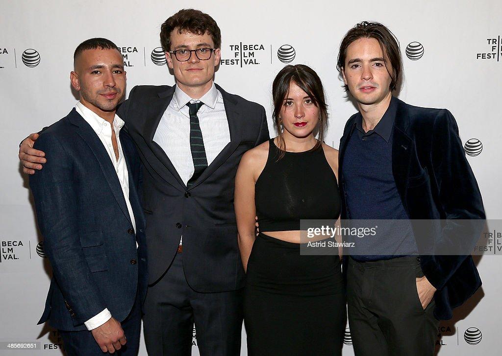 Antonio Santini Adam UhlSofia Subercaseaux and Dan Sickles attend the 'Mala Mala' Premiere during the 2014 Tribeca Film Festival at Chelsea Bow Tie...