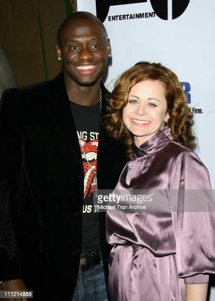 Antonio Tarver and Geraldine Hughes during 'Rocky Balboa' Kickoff Bash December 12 2006 at The Garden of Eden in Hollywood California United States