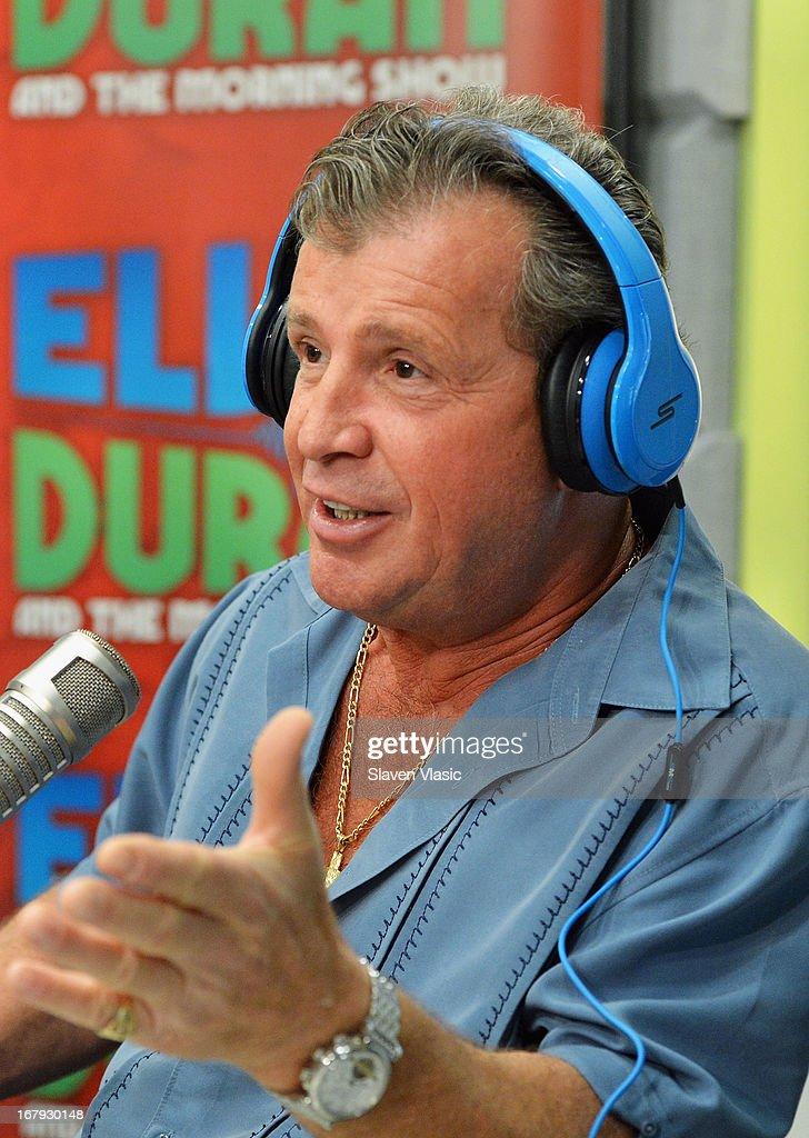 Antonio 'Uncle Nino' Giaimo visits Elvis Duran Z100 Morning Show at Z100 Studio on May 2, 2013 in New York City.