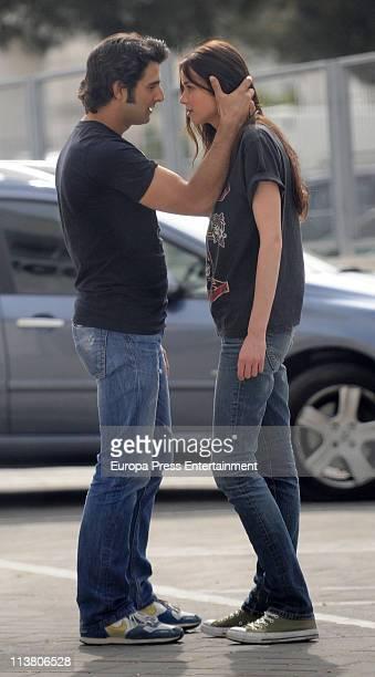 Antonio Velasco and Dafne Fernandez are seen sighting on May 6 2011 in Madrid Spain