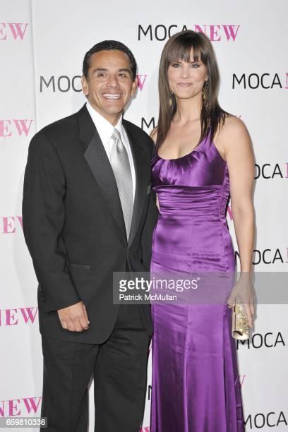 Antonio Villaraigosa and Lu Parker attend MOCA NEW 30th Anniversary Gala at MOCA on November 14 2009 in Los Angeles California