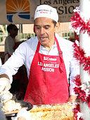 Antonio Villaraigosa is seen at the annual Los Angeles Mission Christmas Dinner on December 24 2015 in Los Angeles California