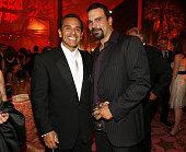 Antonio Villaraigosa Mayor of Los Angeles and Ricardo Chavira