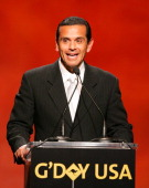 Antonio Villaraigosa Mayor of Los Angeles during 2007 Australia Week Gala Show in Los Angeles California United States