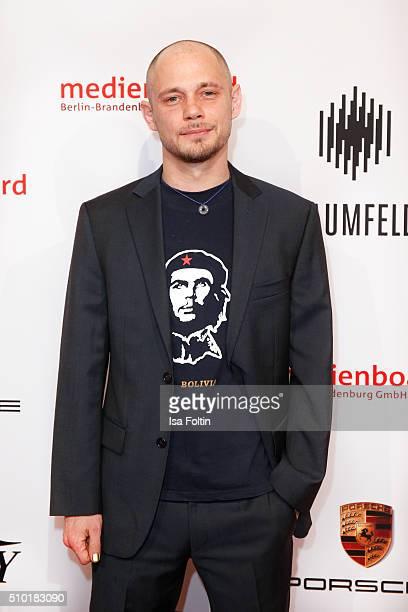 Antonio Wannek attends the Medienboard BerlinBrandenburg Reception on February 13 2016 in Berlin Germany