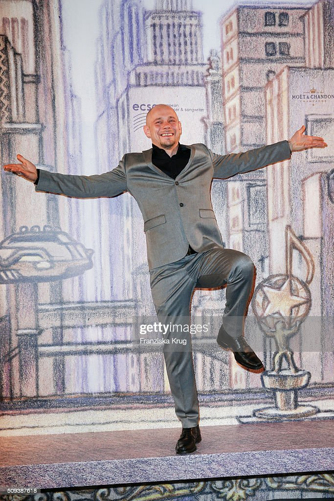Antonio Wannek attends the Moet & Chandon Grand Scores 2016 at Hotel De Rome on February 6, 2016 in Berlin, Germany.
