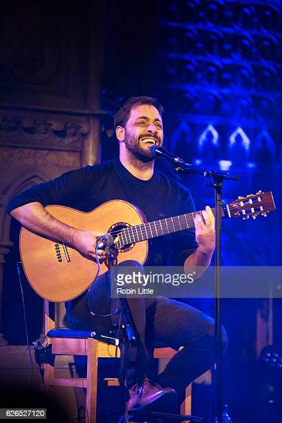 Antonio Zambujo performs at the Union Chapel on November 29 2016 in London England