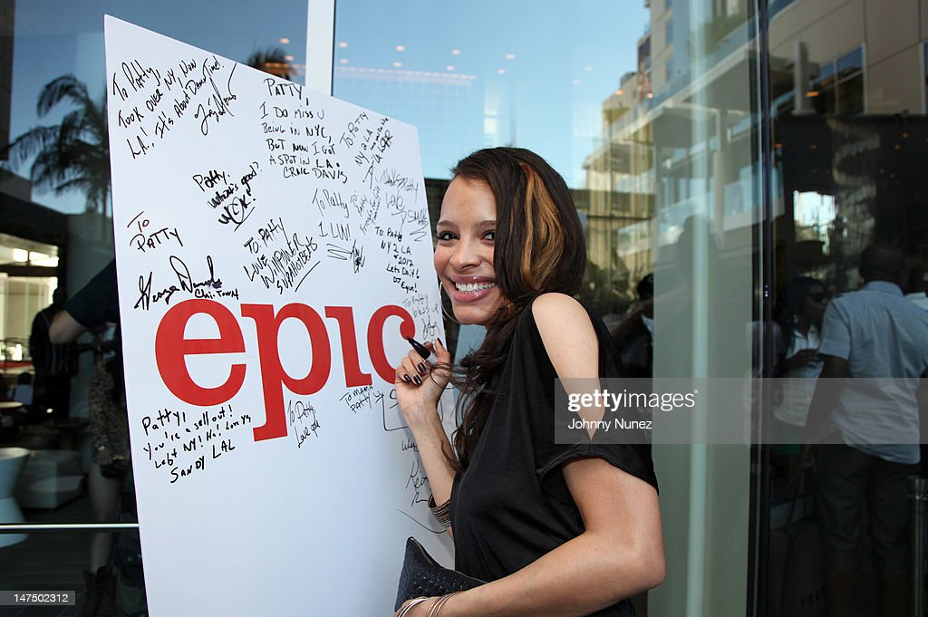 Antonique Smith attends the Epic Records 'Epic Moment' Event at The Station Hollywood on June 30, 2012 in Hollywood, California.