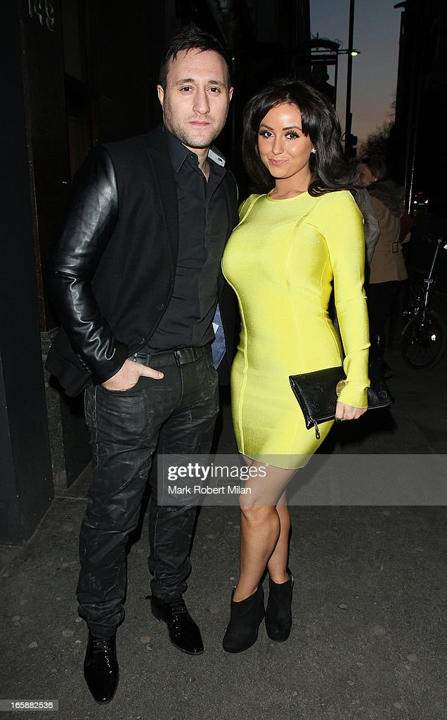 Antony Costa dines at Buddha Bar on April 6, 2013 in London, England.