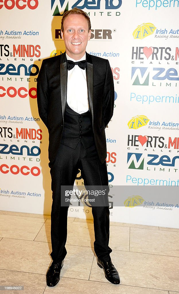 Antony Cotton attends the Hearts and Minds charity ball at Hilton Hotel on November 25, 2012 in Manchester, England.