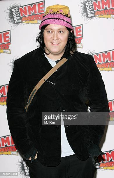 Antony Hegarty arrives at the Shockwaves NME Awards 2006 the weekly music magazine's annual awards at which winners are decided by a readers' poll at...