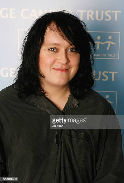 Antony Hegarty of Antony and the Johnsons poses backstage during the opening night of a series of concerts and events in aid of Teenage Cancer Trust...