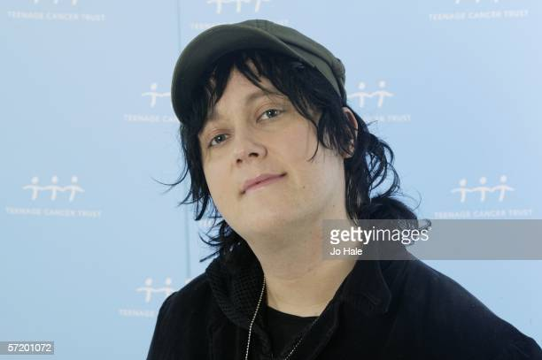 Antony Hegarty poses backstage on the second night of a series of concerts and events in aid of Teenage Cancer Trust organised by charity Patron...